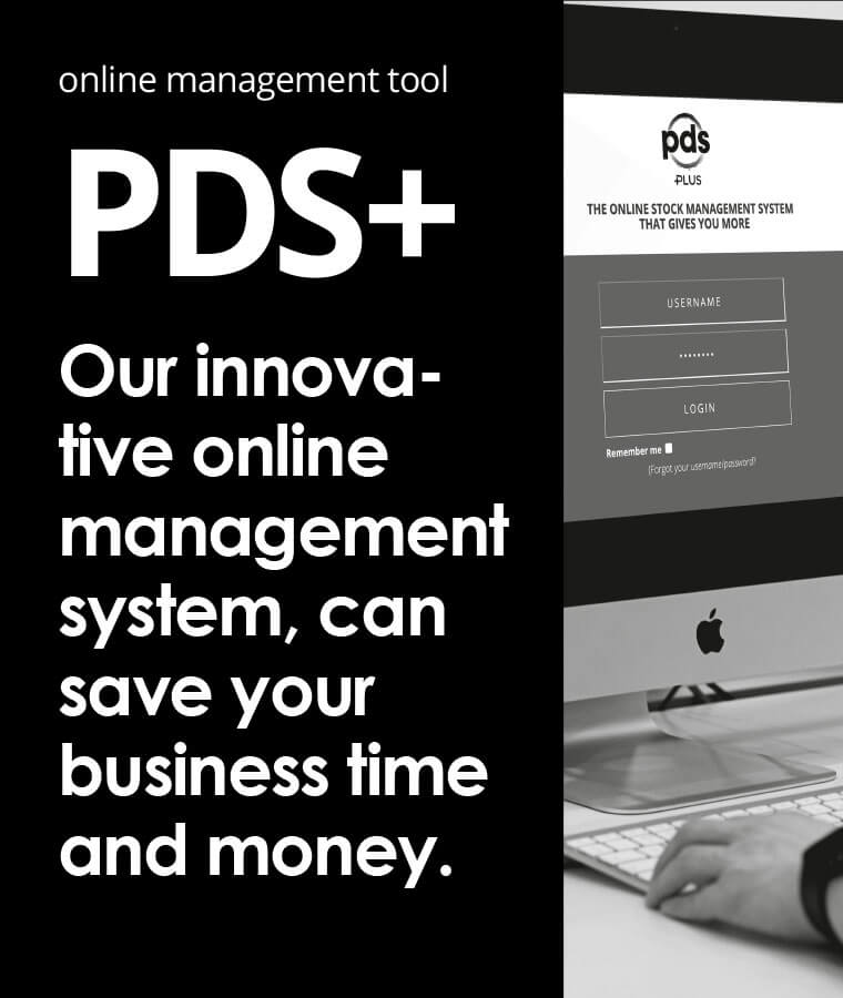Online management tool. PDS+, our innovative online management system, can save your business time and money.